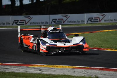 Ricky Taylor captured the pole in his #7 Acura ARX-05 prototype for Sunday's IMSA Road Race Showcase at Road America. It is the second consecutive 1-2 qualifying result at Road America pole for Acura and Team Penske.