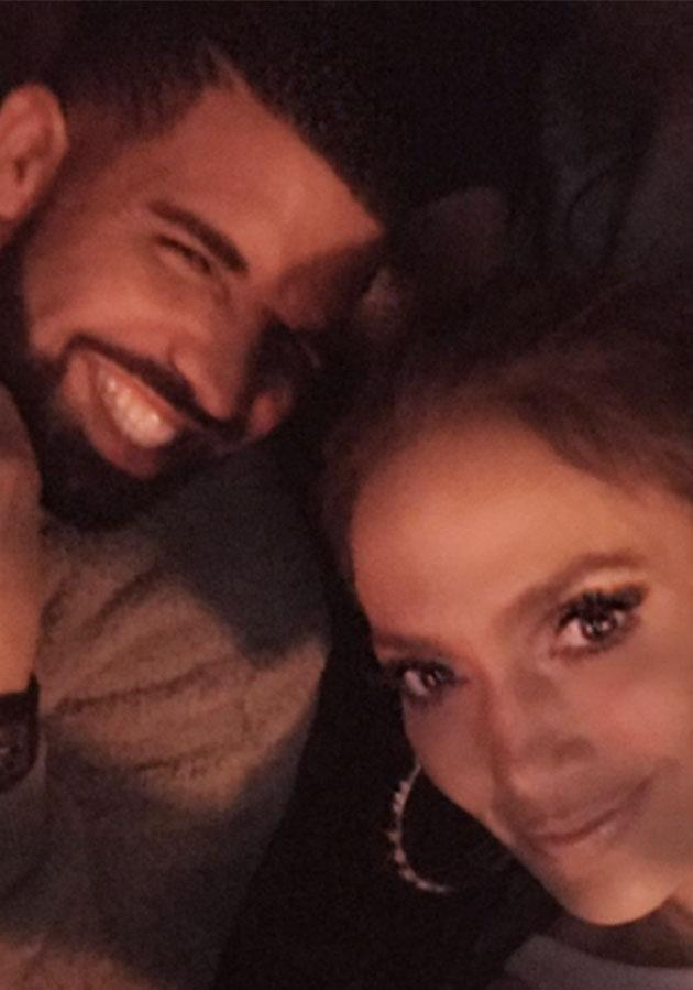 J-Lo posted this selfie of her and Drake to Instagram last week. Photo: Instagram