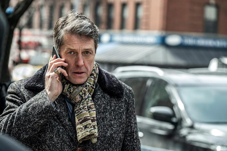 Hugh Grant is done being the charming leading man: 'I'm quite happy to have that behind me'