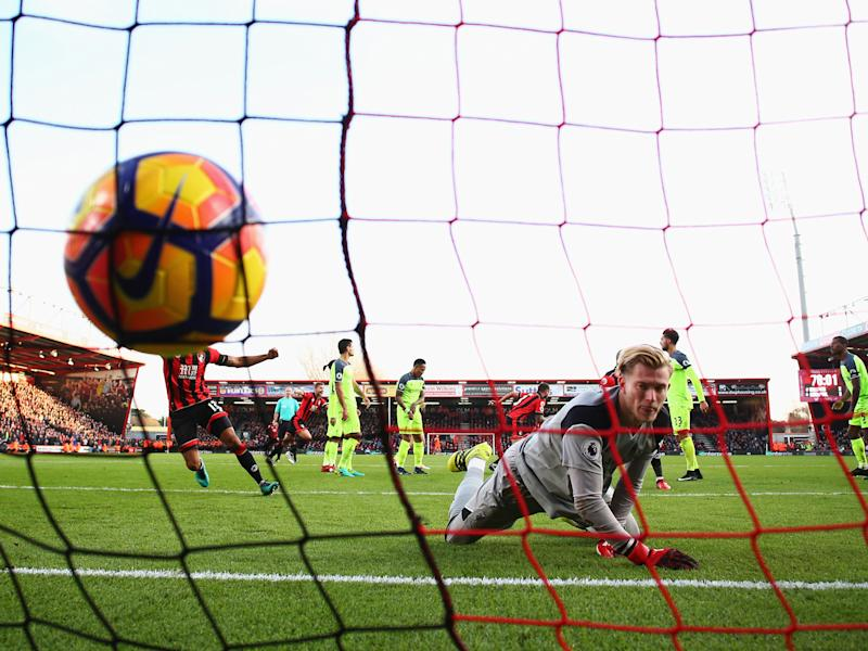 Loris Karius had a day to forget on the south coast earlier this season: Getty