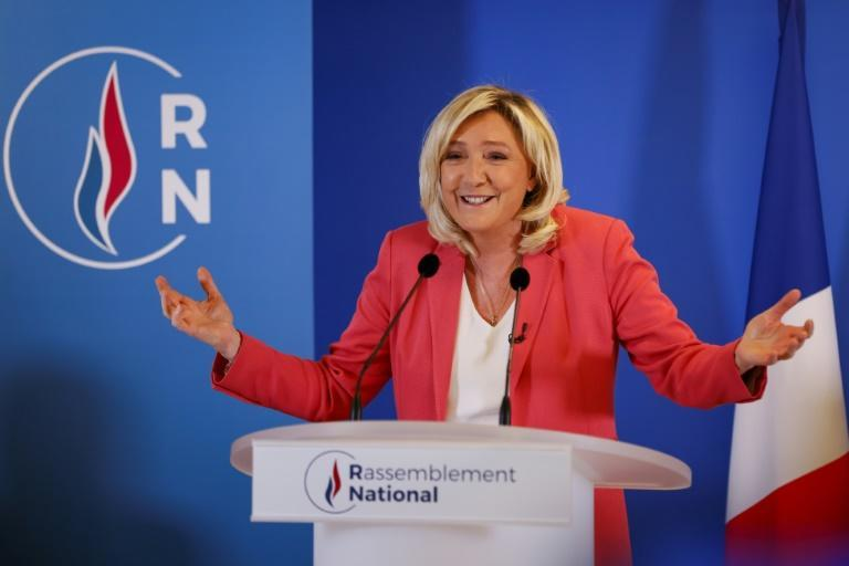 """Far-right leader Marine Le Pen has asked: """"Why shouldn't we celebrate Napoleon?"""""""