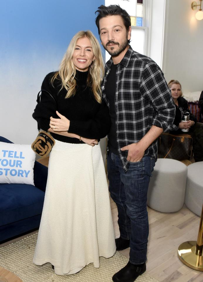 Also at Sundance on Friday, Sienna Miller and Diego Luna stop into the WarnerMedia Lodge: Elevating Storytelling with AT&T.