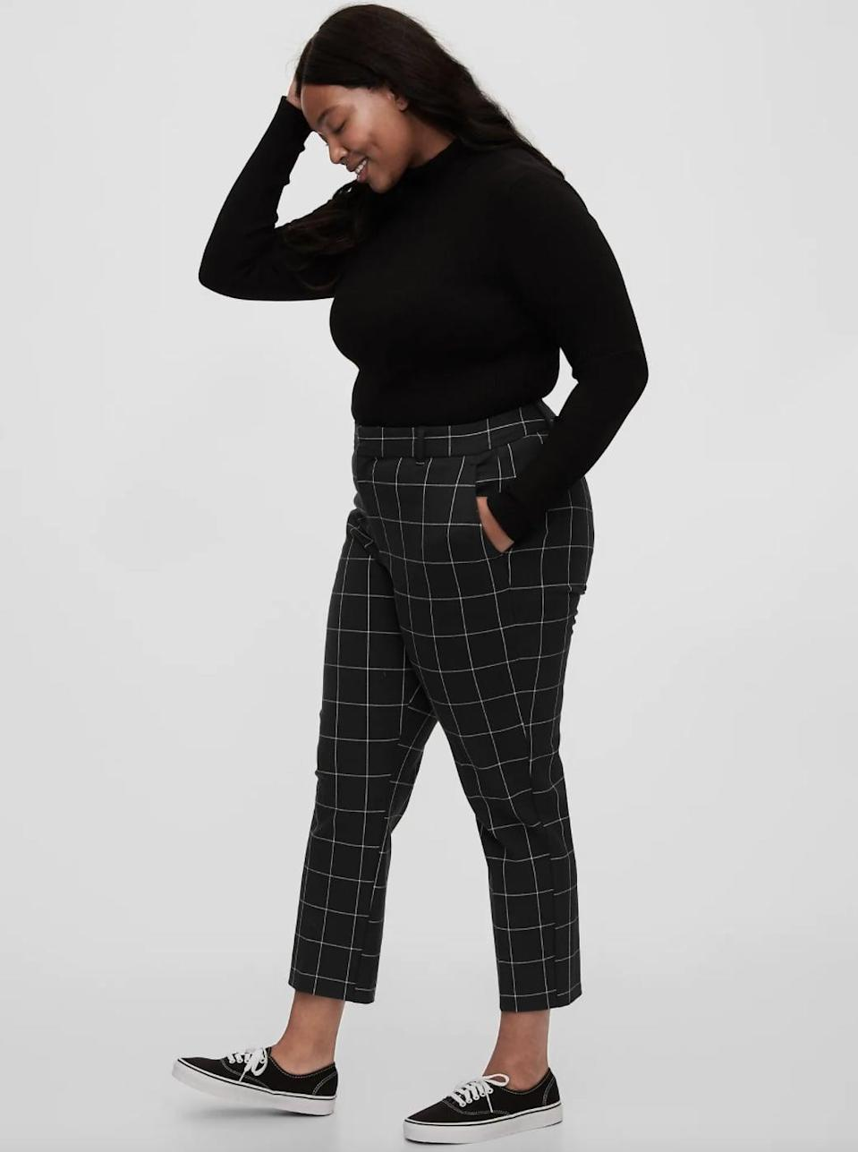 <p>These <span>Gap Slim Ankle Pants</span> ($45, originally $70) are so versatile, you'll wear them all the time.</p>