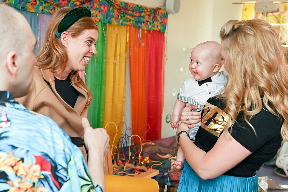 Princess Beatrice and Her Bump Get Down to Business at Time Capsule Garden Party
