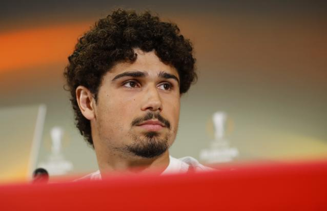 Soccer Football - Europa League - RB Salzburg Press Conference - Red Bull Arena, Salzburg, Austria - May 2, 2018 Andre Ramalho during the press conference REUTERS/Leonhard Foeger