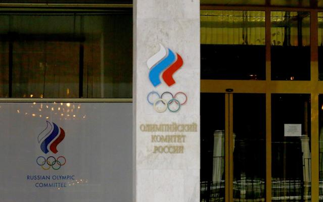 The building that housed the infamous Sochi drug-testing lab that assisted in Russia's state-sponsored doping scheme is now a restaurant (AP)