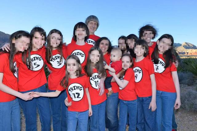 The 13 siblings from the Turpin family are healing from severe trauma with the help of music. (Photo: Facebook)