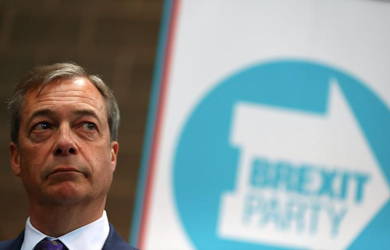 Nigel Farage has unveiled a raft of new candidates for the Brexit Party (Getty)