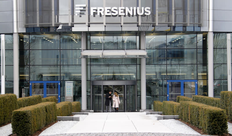 FILE PHOTO - The headquarters of Fresenius is pictured in Bad Homburg near Frankfurt
