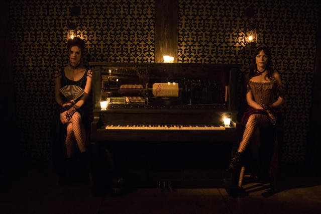 The Mariposa Saloon in 'Westworld: The Experience' (Photo: Westworld NYCC)