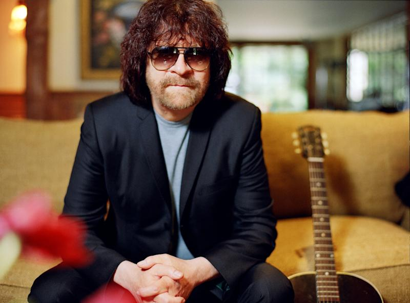 """This undated image released by Frontiers Records shows Jeff Lynne of the Electric Light Orchestra. Lynne just-released """"Mr. Blue Sky"""" CD is a Take Two of 12 of ELO's best-known songs, by a one-man orchestra. It is paired with another release, """"Long Wave,"""" where he interprets some youthful favorites and standards like """"Bewitched, Bothered and Bewildered"""" and """"Love is a Many Splendored Thing."""" (AP Photo/Frontiers Records, Martyn Atkins)"""