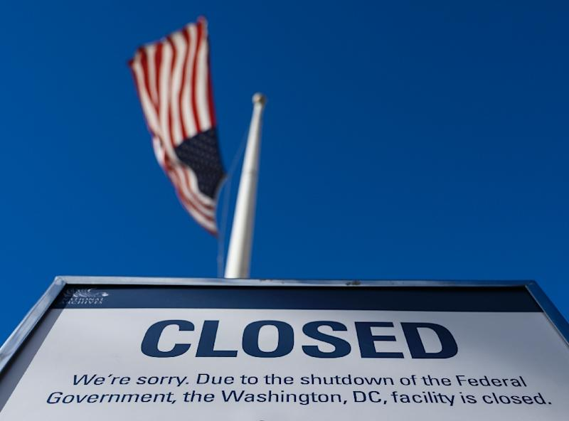 Within two weeks, the shutdown will have cost more than the border wall President Donald Trump is demanding (AFP Photo/ANDREW CABALLERO-REYNOLDS)