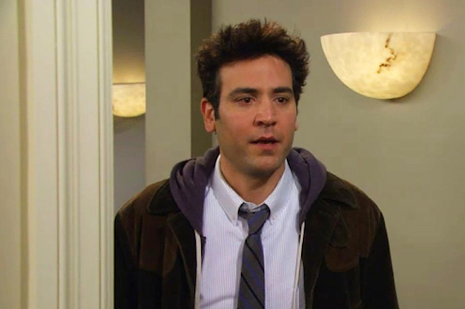 ted on how I met your mother