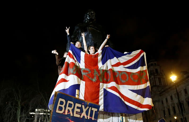 FILE PHOTO: Britain leaves EU on Brexit day