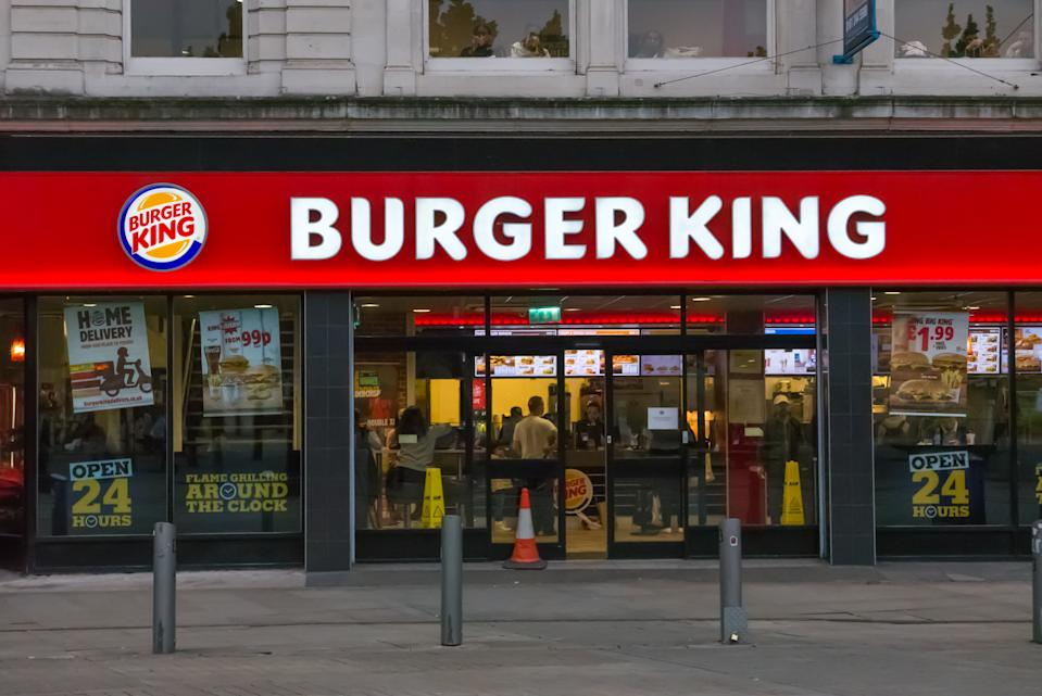 Manchester: Burger King restaurant opened 24 hours per day