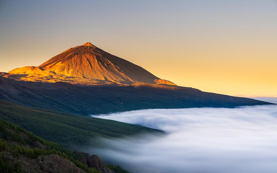 Mount Tiede is one of many rocky must-sees around the Canary Islands - Getty