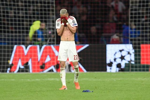 Hakim Ziyech was part of the Ajax team that lost in the final seconds of last season's Champions League semi-final to Tottenham (AFP Photo/JOHN THYS)