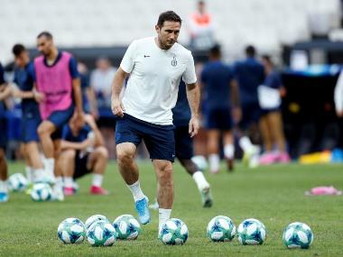 UEFA Super Cup: Chelsea manager Frank Lampard says match against Liverpool 'big test' but he's optimistic of win