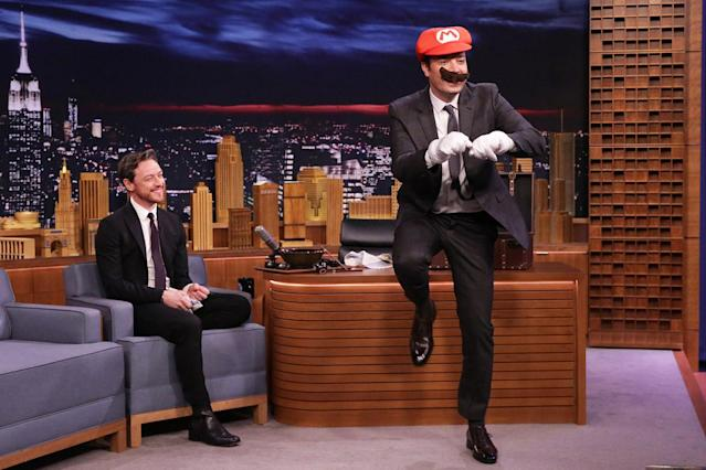 <p>Stephen Colbert's <em>The </em><i>Late Show</i> hasn't just eclipsed Jimmy Fallon's <i>Tonight Show</i> in the ratings — it's also taken the lead in the Emmy race. For the first time since ascending to Johnny Carson and Jay Leno's old chair in 2014, Fallon failed to qualify in the Outstanding Variety Talk Series category. (<i>The Tonight Show</i> was recognized in the Outstanding Interactive Program category.) It appears that rubbing Donald Trump's hair doesn't bring you good luck. <i>— Ethan Alter</i><br><br>(Photo: NBC) </p>