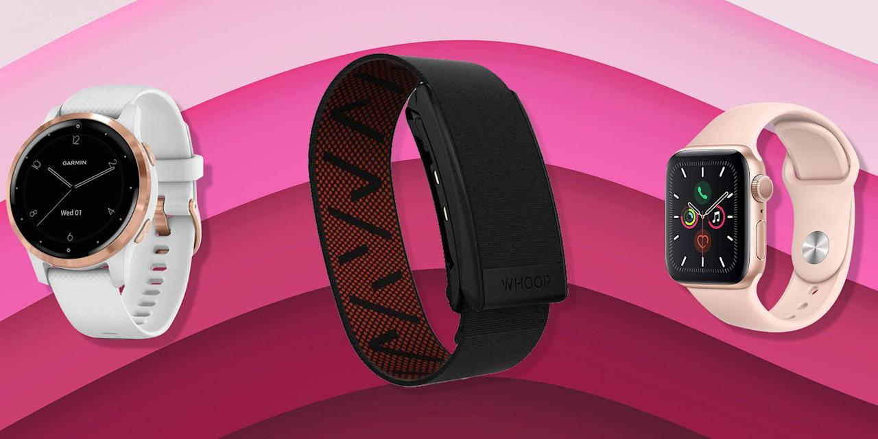 """<p><strong>A waterproof fitness tracker that tags along wherever you go—from your bed to the shower to the gym—is really an active girl's best friend.</strong> Who wants to deal with taking off her watch every time she decides to take a hot yoga class, go for a swim, or gets caught in a downpour that her weather app failed to warn her about during an outdoor run?</p><p>Not only does taking off your smartwatch or tracker mean you lose precious data, but it also means you have a greater chance of losing it—or leaving it at home. </p><p>Fortunately, the solution here is easy—use this list of the best waterproof fitness trackers to find one that you like so much you never want to take it off…and won't ever have to, either. Many of the entries here are <a href=""""https://www.womenshealthmag.com/fitness/a29648053/2019-fitness-awards/"""" target=""""_blank"""">2019 Women's Health Fitness Award winners</a> (and are designated as such as you click through). <strong>They've been tested and vetted by dozens of fitness pros</strong> who also weigh in their favorite features here too. </p><p>What's more, <strong>you'll find waterproof fitness trackers at every price point on this list</strong>, including a budget-friendly option for under $50 and another for $70. There are also next-gen water-resistant wearables that are </p><p>So here you have 'em, the best waterproof fitness trackers that can hold up against any type of moisture.</p>"""