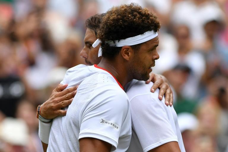 Nadal enters Wimbledon quarter-finals for the seventh time