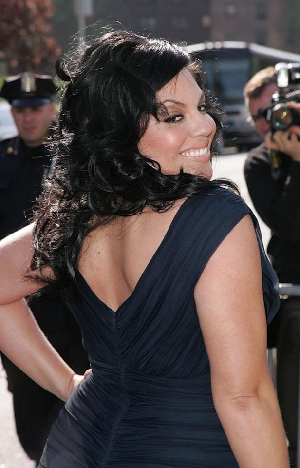 "Sara Ramirez of ""Grey's Anatomy"" shows off her curves. James Devaney/<a href=""http://www.wireimage.com"" target=""new"">WireImage.com</a> - May 15, 2007"