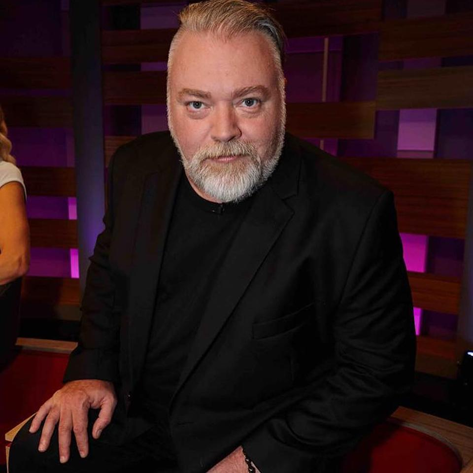 Kyle Sandilands poses for a photo at a KIIS FM event.