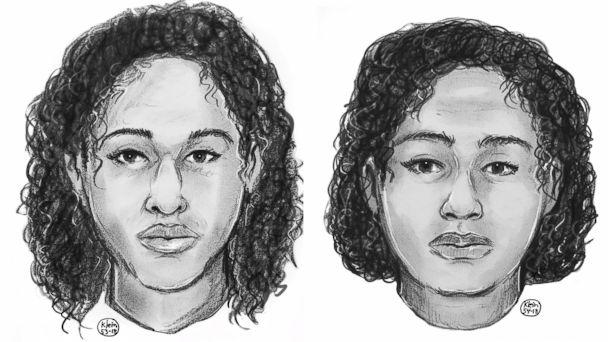 PHOTO: Police sketches of the two women found taped together in the Hudson River on Oct. 24, 2018. (New York Police Department)