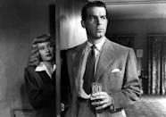 """<a href=""""http://movies.yahoo.com/movie/double-indemnity/"""" data-ylk=""""slk:DOUBLE INDEMNITY"""" class=""""link rapid-noclick-resp"""">DOUBLE INDEMNITY</a> (1944) <br>Directed by: <span>Billy Wilder</span> <br>Starring: <span>Fred MacMurray</span>, <span>Barbara Stanwyck</span> and <span>Edward G. Robinson</span>"""