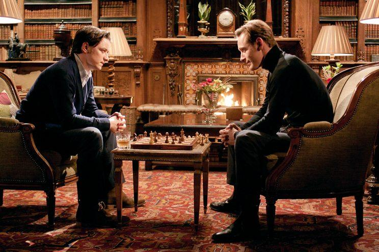 James McAvoy and Michael Fassbender in 'X-Men: First Class' (Photo: Everett)