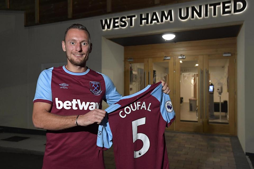Vladimir Coufal has enjoyed a fine start in east London (West Ham United FC via Getty Images)