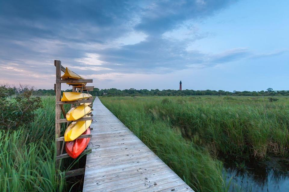 <p>Infinitely more welcoming than the name would suggest, Kill Devil Hills lies in the heart of the Outer Banks (rightfully dubbed America's First Beach). The calm shores are perfect for the summer recharge we all are in need of.</p>
