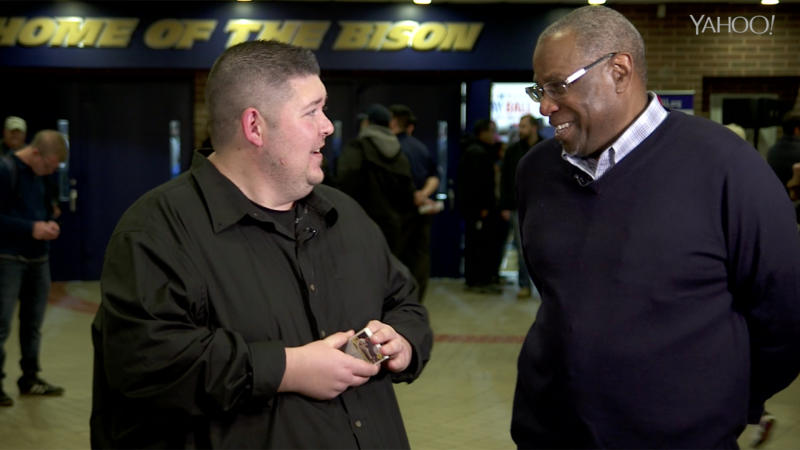 Dusty Baker has made plenty of relationships with players throughout his years in the game. (Yahoo Sports)