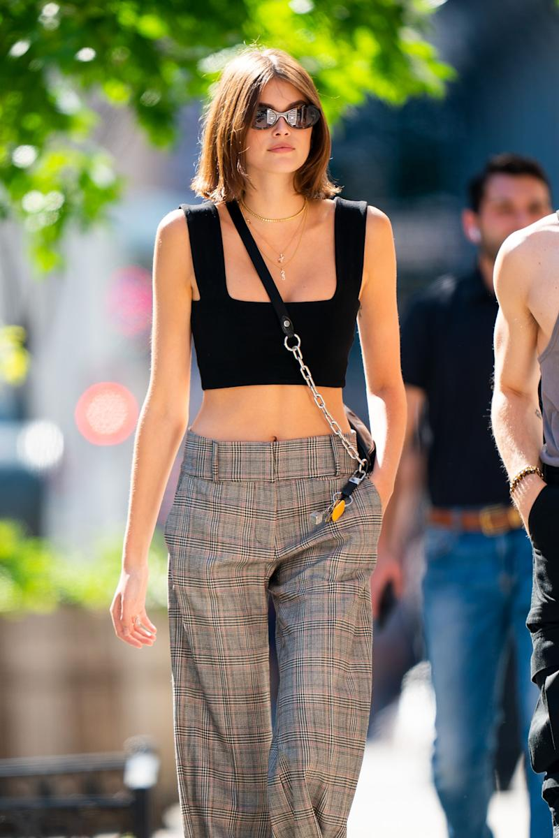 Kaia Gerber in the street