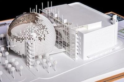 Is the Academy Building a Death Star at its New Museum?