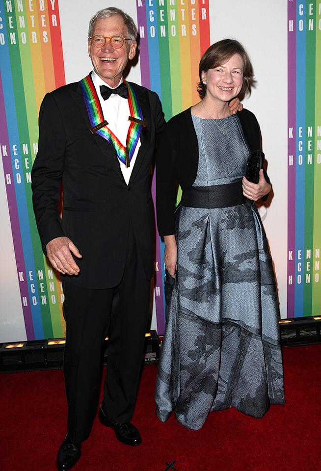 """<p>In 2009, the <em>Late Night</em> host was forced to come forward and admit his infidelities — just months after marrying longtime love, Regina Lasko — when a CBS producer attempted to extort him over his wandering eye. Letterman admitted on-air to having relationships with women who worked for him. """"It was easily the lowest point in my life,"""" <a rel=""""nofollow"""" rel=""""nofollow"""" href=""""http://www.rollingstone.com/tv/news/david-letterman-says-goodbye-inside-rolling-stones-new-issue-20150506"""">Letterman reflected to</a><em> Rolling Stone </em>in 2015. """"I don't know how else to describe it. I felt like I'd dug a bottomless pit, and I was falling into it."""" The TV icon expressed gratitude that his wife stuck with him and acknowledged he will have to have a conversation with his son about it one day when he's older. (Photo: Walter McBride/Corbis via Getty Images) </p>"""