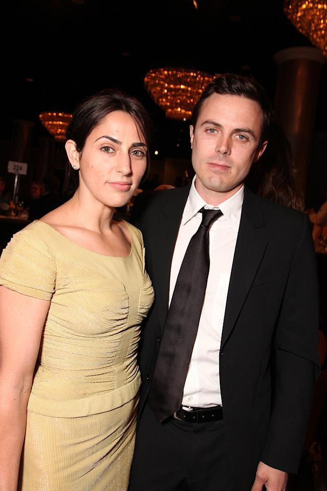 "<a href=""http://movies.yahoo.com/movie/contributor/1800349552"">Summer Phoenix</a> and <a href=""http://movies.yahoo.com/movie/contributor/1800018566"">Casey Affleck</a> at the 24th American Cinematheque Annual Gala Honoring Matt Damon on March 27, 2010."