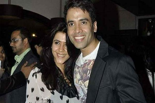 3. Ekta and Tusshar Kapoor Children of one of the top yester year actors, this duo has been rocking Bollywood for quite some time now. While Ekta is the queen of TV soaps, Tusshar too is gradually gaining ground in the industry. Recently, they collaborated in 'Shor in the City' which won huge critical acclaim all over. Ekta Kapoor also roped in her brother Tusshar Kapoor for her home project 'Dirty Picture'.