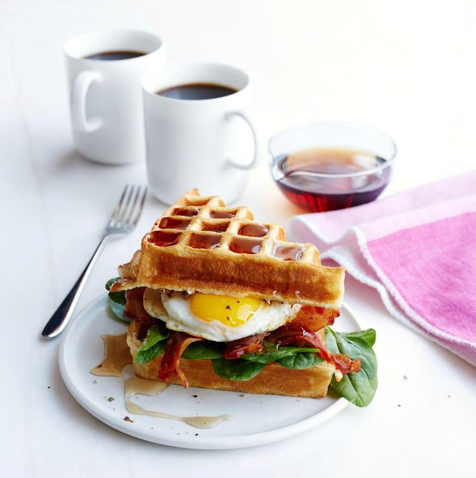 "<p>Why choose between their favorite breakfast items when they can have it all?</p><p><a href=""https://www.womansday.com/food-recipes/recipes/a50558/buttermilk-waffle-bacon-egg-sandwich-recipe-wdy0615/"" rel=""nofollow noopener"" target=""_blank"" data-ylk=""slk:Get the Buttermilk Waffle, Bacon, and Egg Sandwich recipe."" class=""link rapid-noclick-resp""><em>Get the Buttermilk Waffle, Bacon, and Egg Sandwich recipe.</em></a></p>"