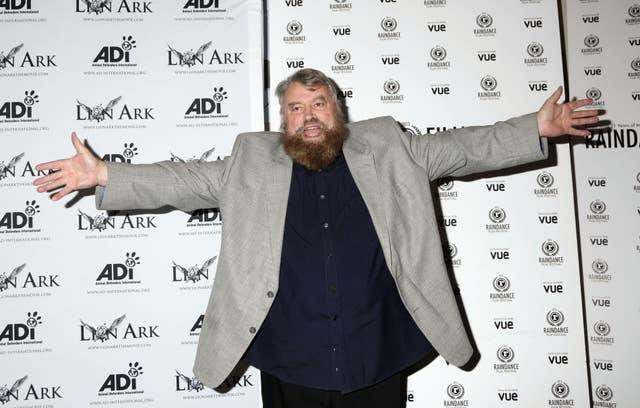 Brian Blessed among the celebrities taking part in the campaign