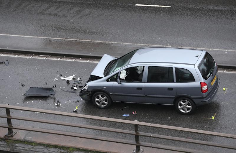 Six people died in the multiple-vehicle horror smash (SWNS)