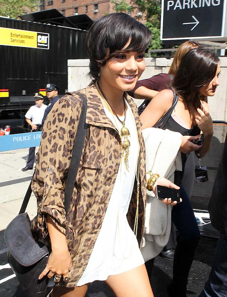 """""""Sucker Punch's"""" Vanessa Hudgens is another star star who happens to love the wild trend. (9/8/2011)"""