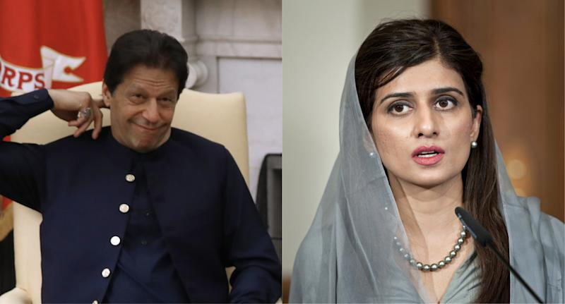 Imran Khan and Hina Rabbani Khar