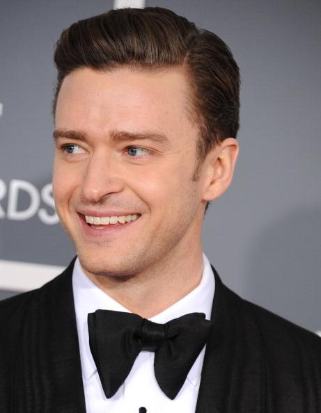 Justin Timberlake arrives at the The 55th Annual GRAMMY Awards on February 10, 2013 in Los Angeles, California.