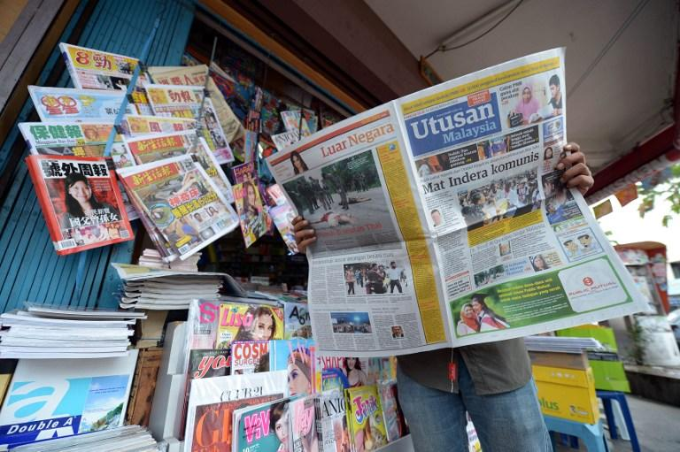 Fernandez said Utusan must work to regain public trust and rebuild its credibility with critical reporting and analyses. — AFP pic