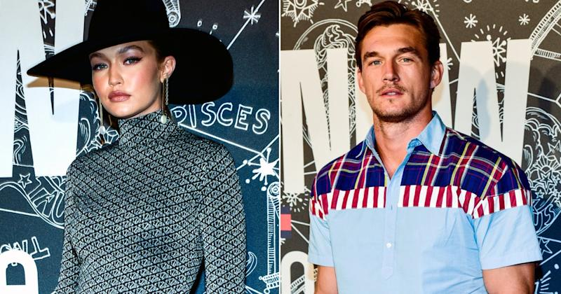 Gigi Hadid and Tyler Cameron Both Attend Tommy Hilfiger
