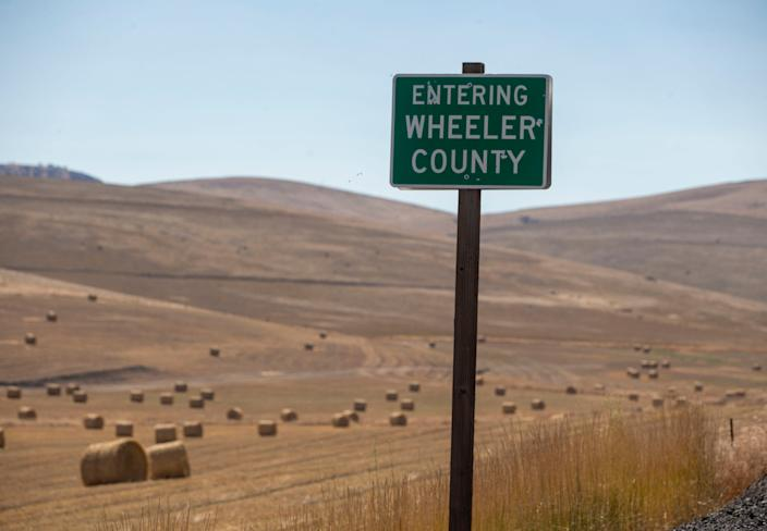 Wheeler County, Ore., until last week, had the distinction of being one of six counties in the United States without a case of coronavirus.