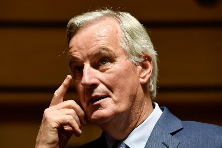 Michel Barnier sparked a rally in sterling