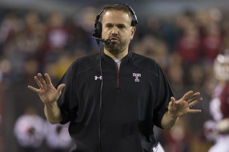 How will Temple handle its first game without Matt Rhule? (AP)
