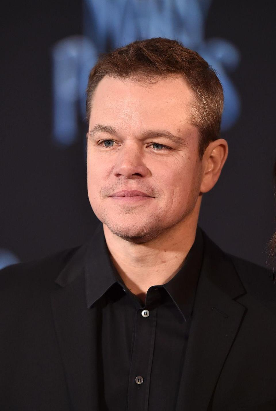 <p>I mean we all know what Matt Damon currently looks like, right? He's still famous! He's in everything! He's everywhere! Moving on!</p>